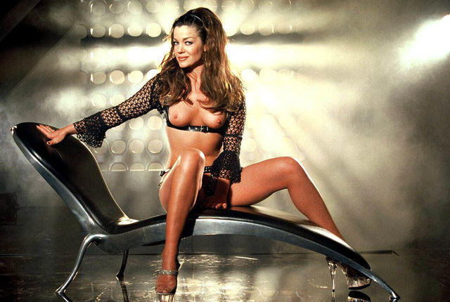 models Claudia Christian 25 years impassioned photography in public