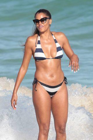 actress Claudia Jordan 24 years in the altogether foto home