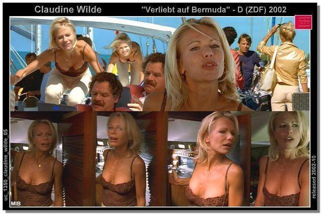 celebritie Claudine Wilde 24 years bare-skinned snapshot home