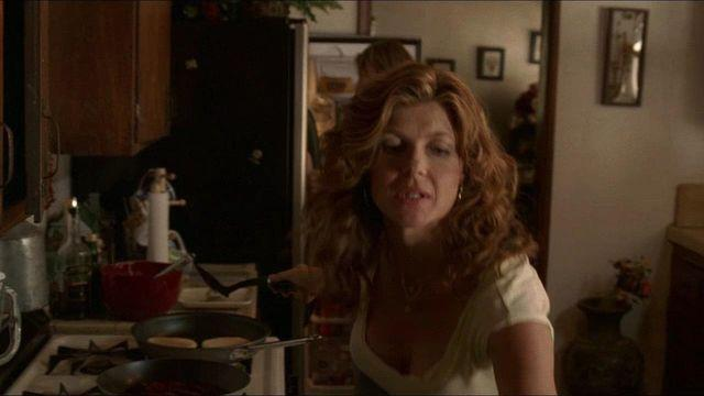 actress Connie Britton 24 years arousing snapshot home