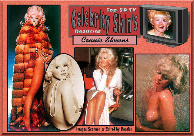 celebritie Connie Stevens 21 years disclosed photos beach