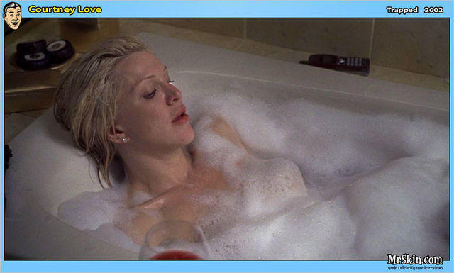 celebritie Courtney Love 25 years raunchy photo home