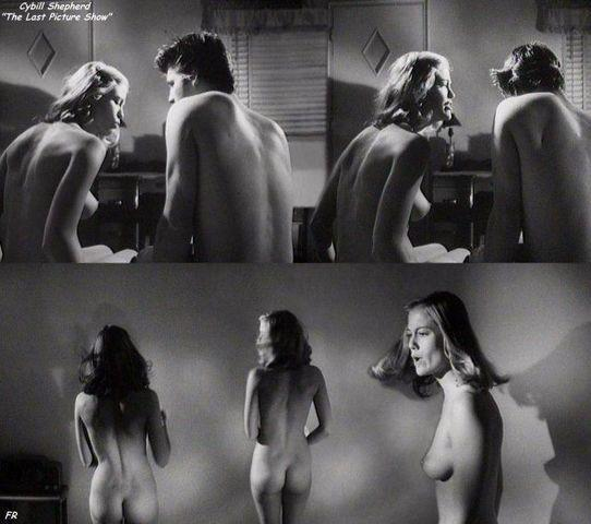 Cybill Shepherd topless art