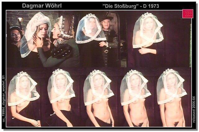 actress Dagmar Wöhrl 21 years bare photo in the club