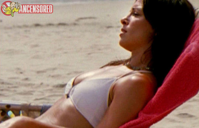 celebritie Danielle Burgio young raunchy photoshoot beach