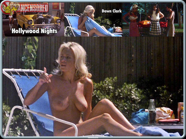 Dawn Clark topless foto