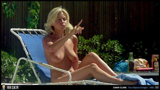 celebritie Dawn Clark 21 years nipple photo beach