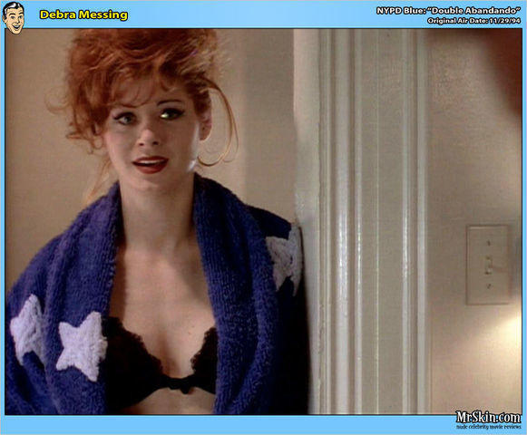 actress Debra Messing 24 years fervid picture beach