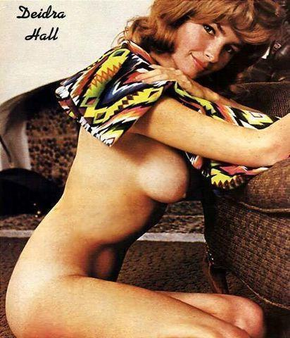 actress Deidre Hall 24 years nude young foto photography in public