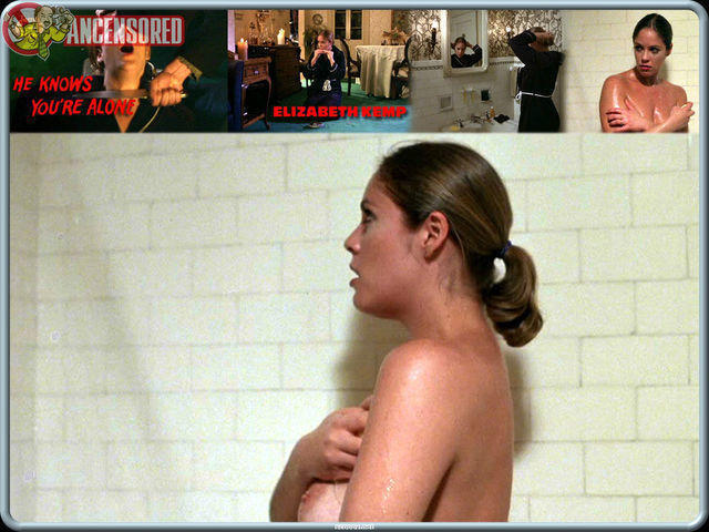 celebritie Elizabeth Kemp 21 years undressed photography in public