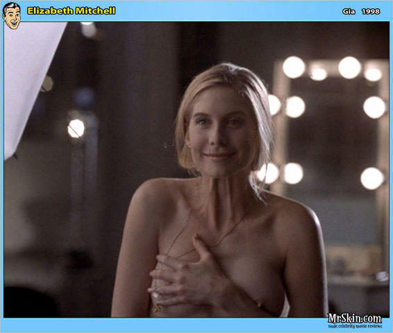 Hot photoshoot Elizabeth Mitchell tits