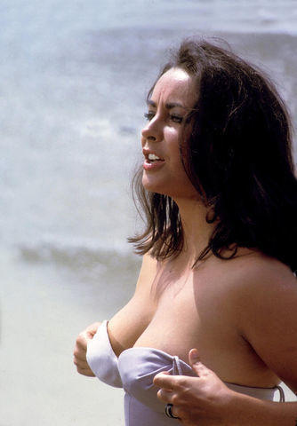 models Elizabeth Taylor 24 years unclothed photography home