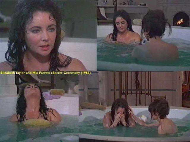 actress Elizabeth Taylor 22 years bare picture home