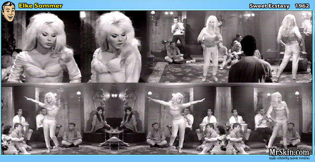 actress Elke Sommer 19 years salacious art home