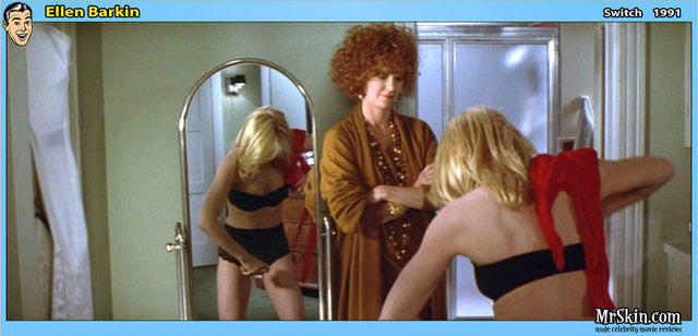 Ellen Barkin topless photos