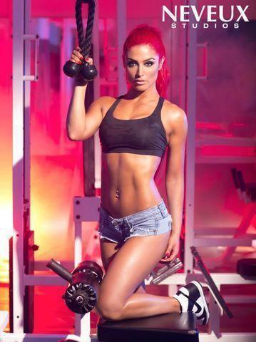models Eva Marie 21 years melons picture in public