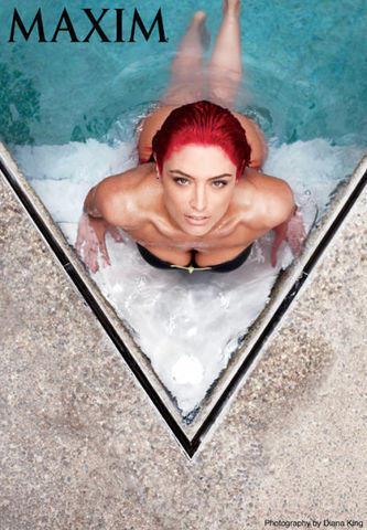 models Eva Marie 24 years exposed pics in public