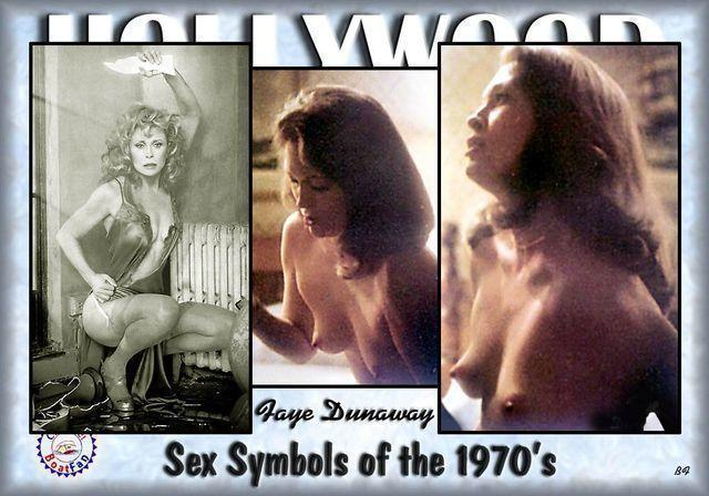 actress Faye Dunaway 19 years undress art in public