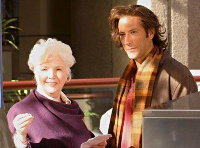 celebritie Fionnula Flanagan 20 years private image in the club