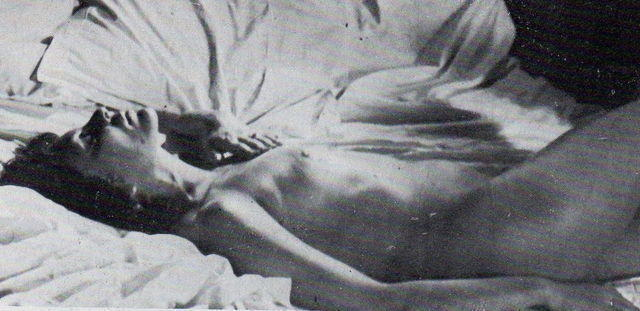 actress Françoise Prévost 22 years nude picture in the club