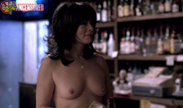Frances Fisher topless art