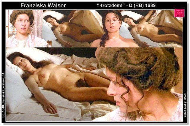 Hot picture Franziska Walser tits