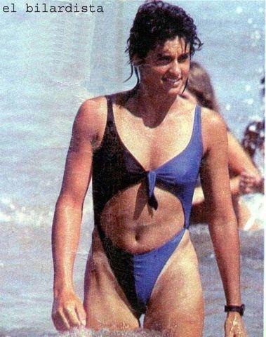 celebritie Gabriela Sabatini 25 years exposed image home
