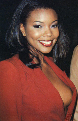 actress Gabrielle Union 20 years nude image home