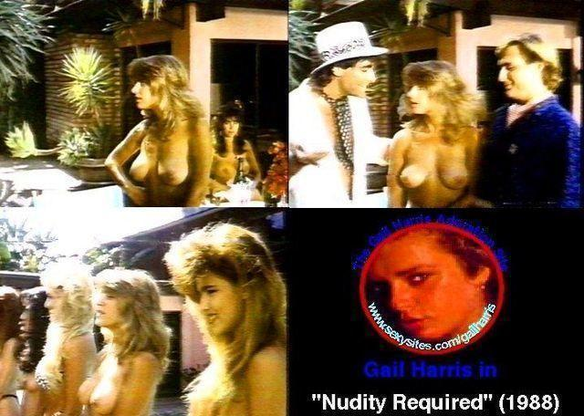celebritie Gail Harris young undress pics in public