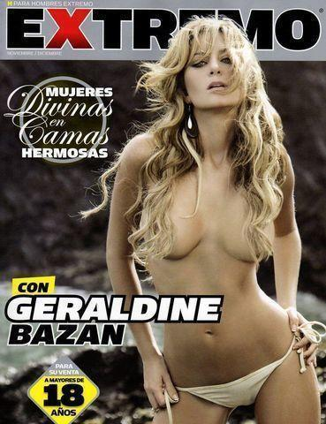 models Geraldine Bazán 24 years unmasked photos home