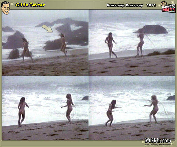 actress Gilda Texter 25 years nude art image in public