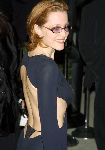 models Gillian Anderson 22 years Hottest pics in public