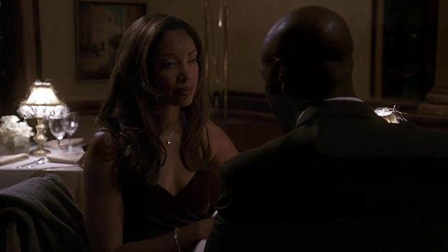 models Gina Torres young nude art photoshoot in the club