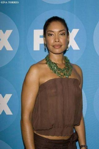 models Gina Torres 21 years in the buff foto home