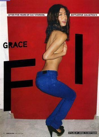 Grace Park topless picture