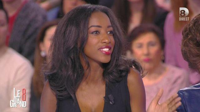 actress Hapsatou Sy teen provoking picture in public