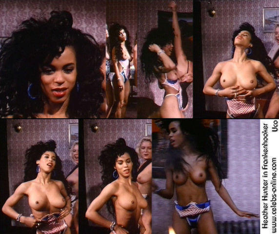celebritie Heather Hunter 21 years Without panties art home