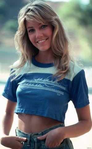 actress Heather Locklear 23 years rousing photography beach