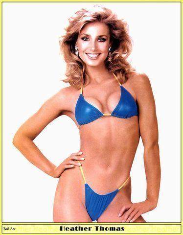 actress Heather Thomas 24 years unexpurgated picture in public