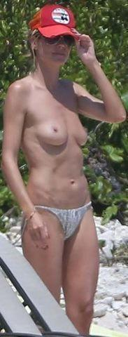 actress Heidi Klum 2015 nude photos home