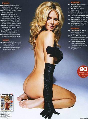 models Heidi Klum 25 years k naked photography in public