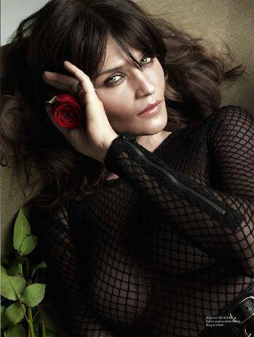 models Helena Christensen 24 years lecherous photos in the club