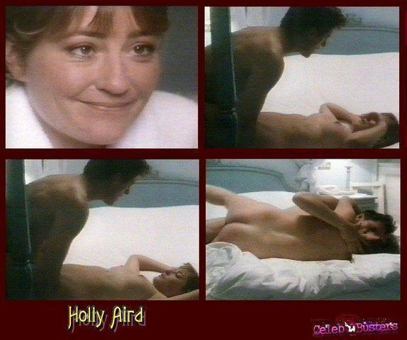 Holly Aird topless photos