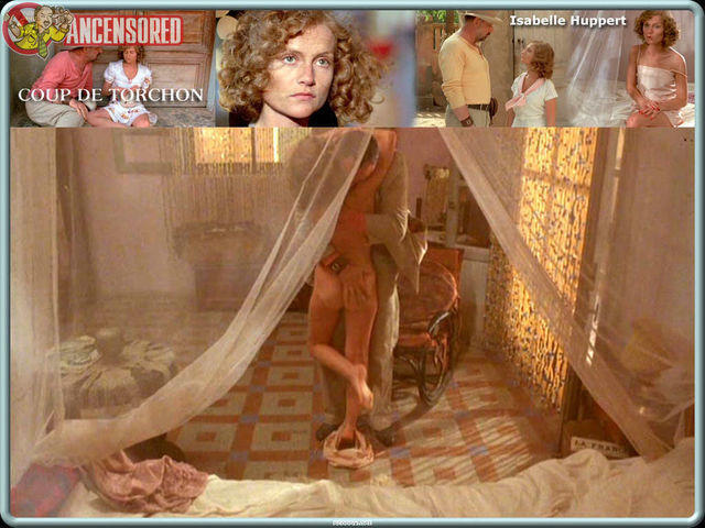 actress Isabelle Huppert 22 years voluptuous image home