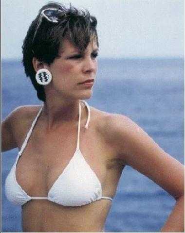actress Jamie Lee Curtis 23 years in the altogether pics home