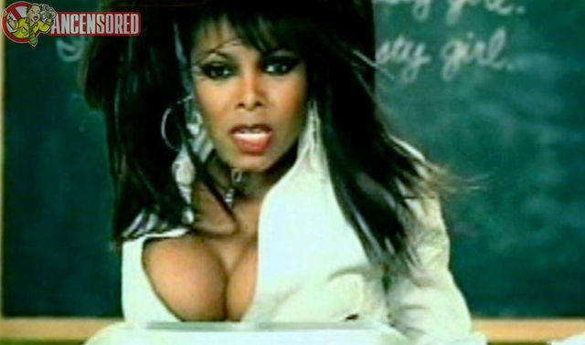 celebritie Janet Jackson 21 years Uncensored photography in public