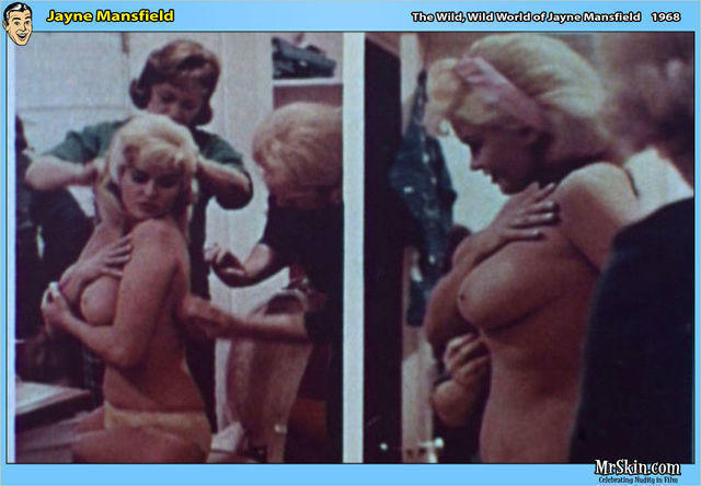 models Jayne Mansfield 24 years bare photos home