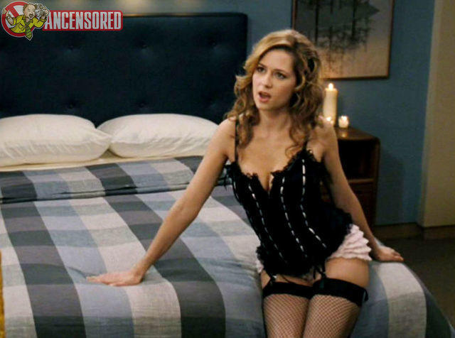 models Jenna Fischer 25 years impassioned photo beach