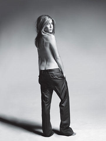 Naked Jennifer Aniston photo