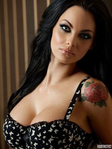 models Jessica Jane Clement young inviting snapshot in the club